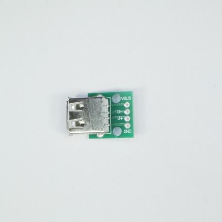 USB jungtis 2.0 (female)