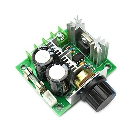 PWM nuolatinės srovės variklio greičio reguliatoriaus 12V-40V 10A