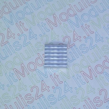 Aušinimo radiatorius (14mm x 14mm x 4mm)