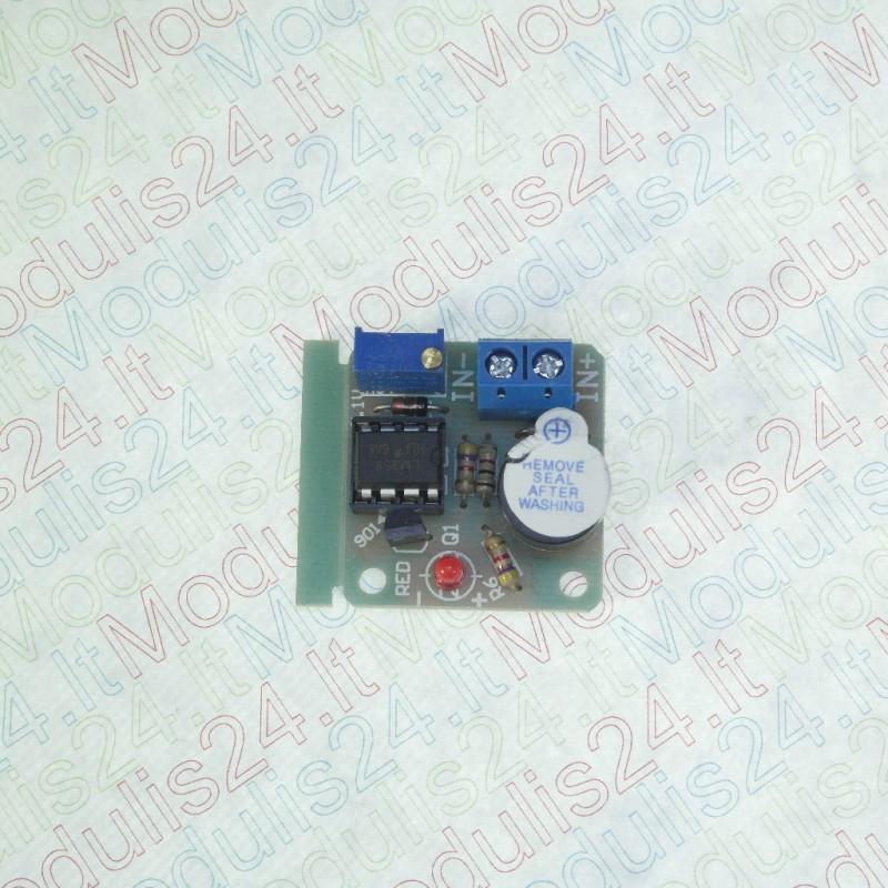 Švininės baterijos detektorius