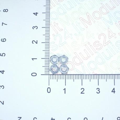 Veržlų komplektas 3mm (4vnt)