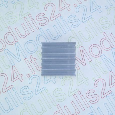 Aušinimo radiatorius (14mm x 14mm x 6mm)