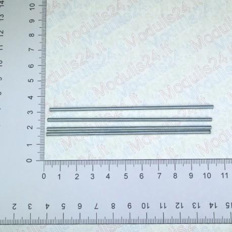 Strėginiai strypeliai (M3x100) ilgio (4vnt)