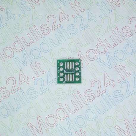 Perėjimas (adapteriai) iš SMT Į DIP SOP8 (0,65mm)