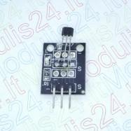 Magnetinio lauko sensorius skirtas Arduino (Hall Effect Magnetic Sensor)