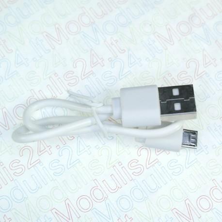 USB laidas (MICRO USB) (27cm)
