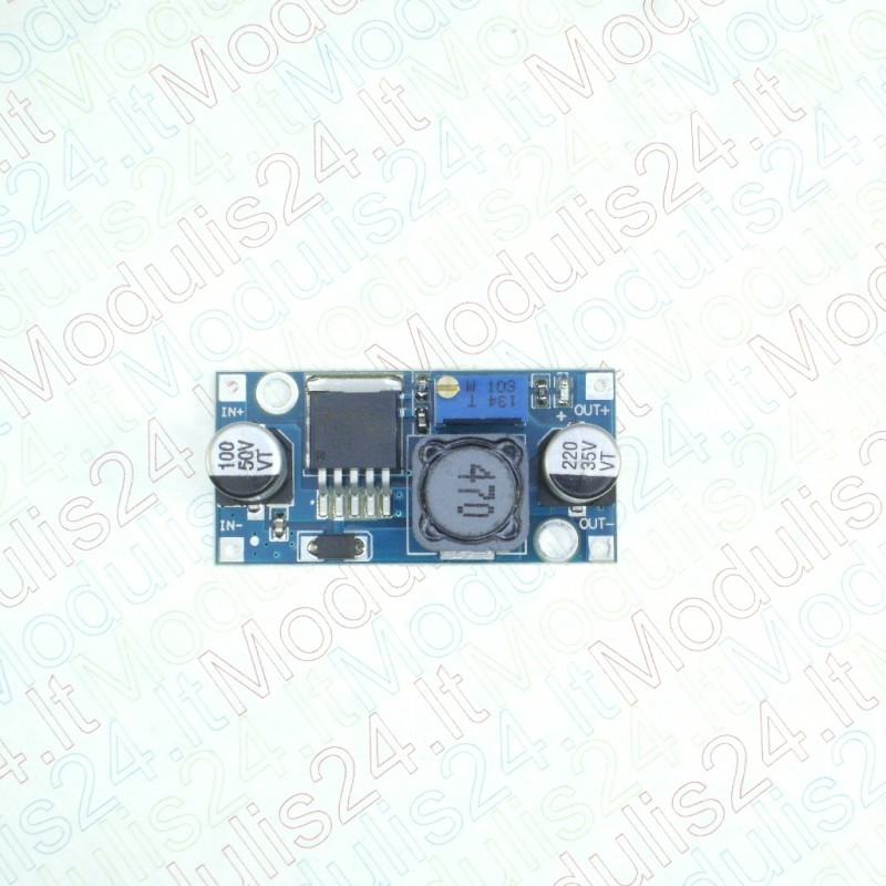 Adjustable step down power supply module