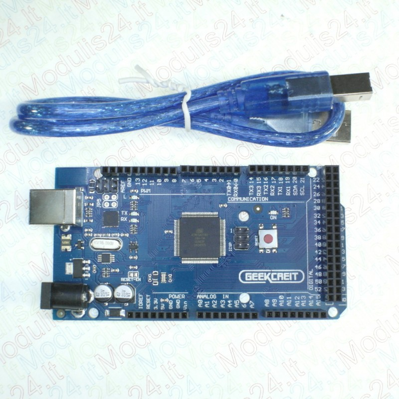 Development board with usb for arduino