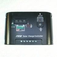 Saulės baterijų valdiklis 10A 12V/24V Auto PWM