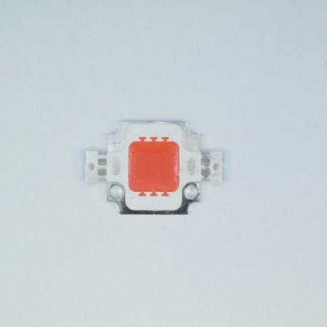 Šviesos diodas (LED) 10W Raudonas (RED) 12V